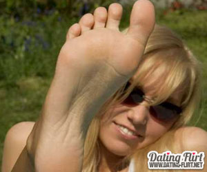 Deutsche Frauen mit Fußfetisch
